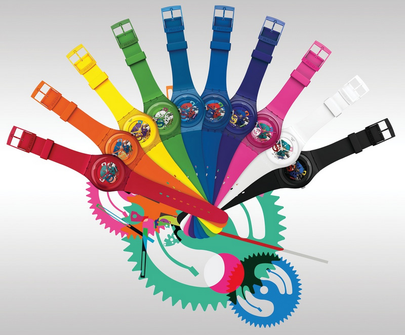 07bdc03bf99 Novo  Swatch New Gent Lacquered!!!